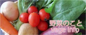 野菜のこと